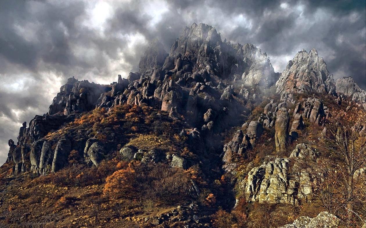 Демерджи в тумане