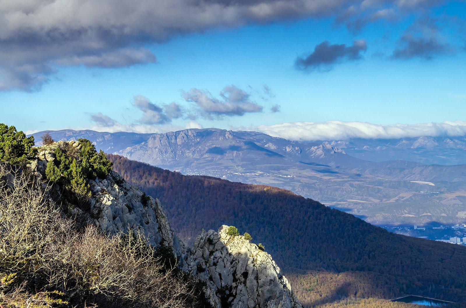 Вид с горы Парагильмен