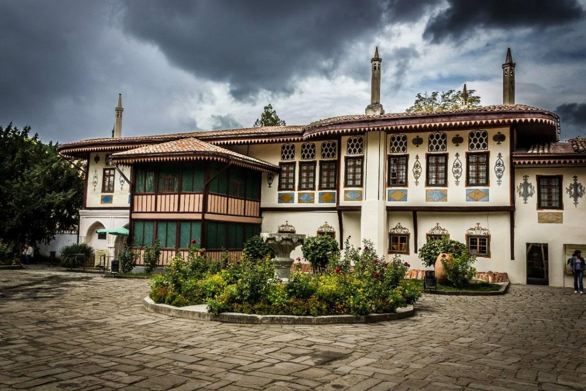 Ханский дворец в Крыму бахчисарай