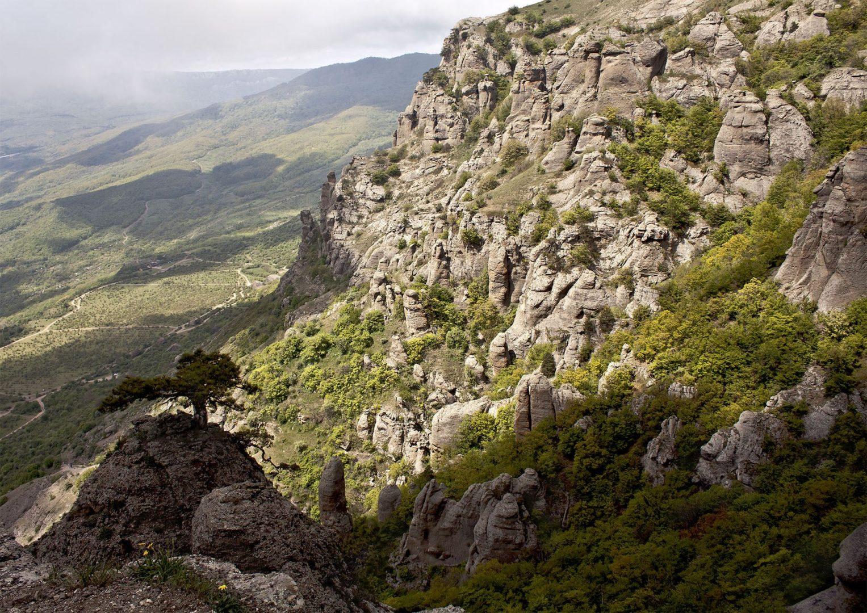 Вид с вершины Демерджи