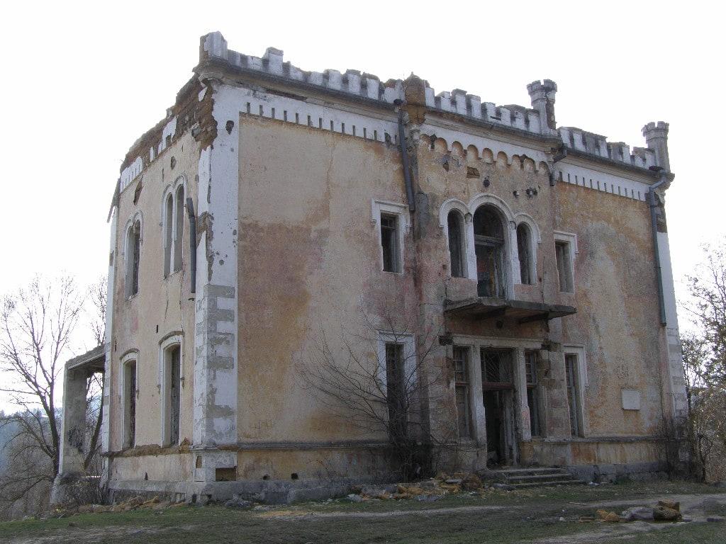 Усадьба Кесслера до реставрации