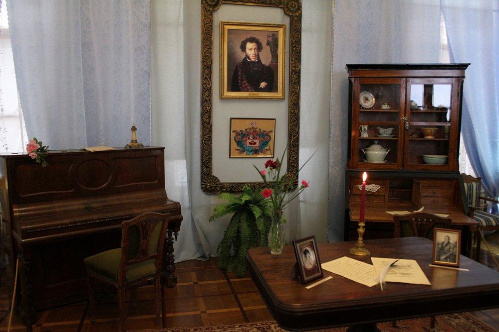 Музей Пушкина, кабинет