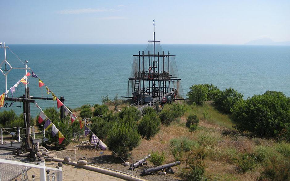 Смотровая площадка музея морских катастроф
