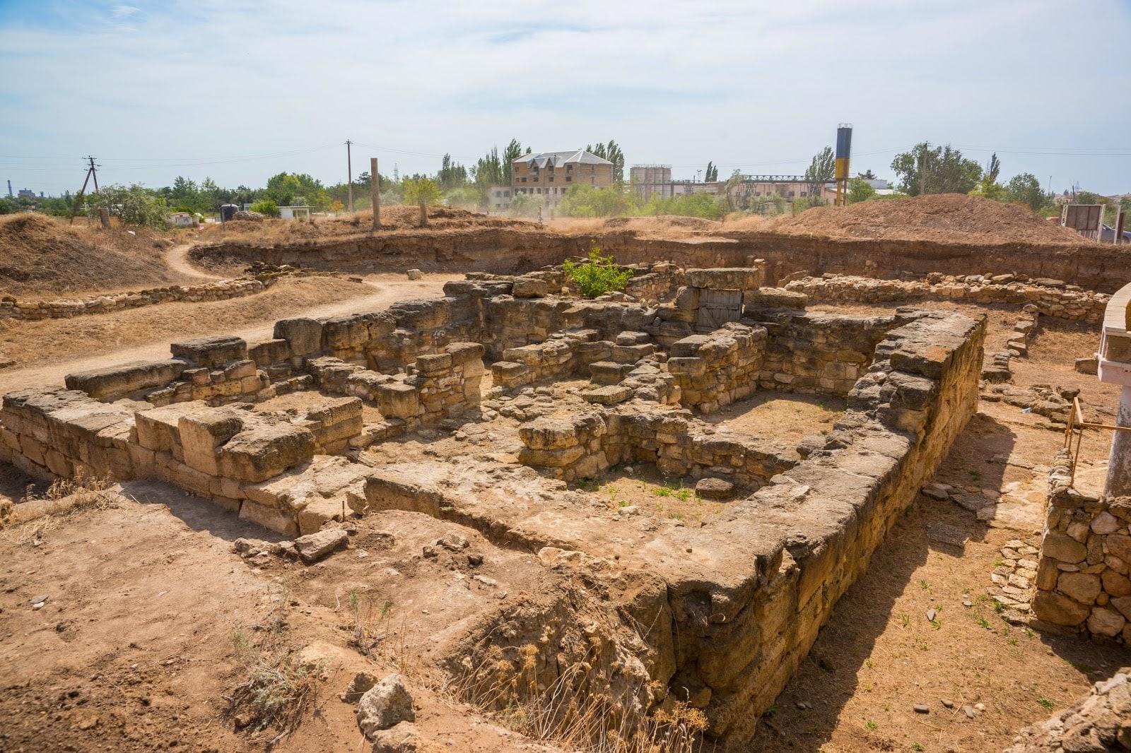 Раскопки музея Кара-Тобе