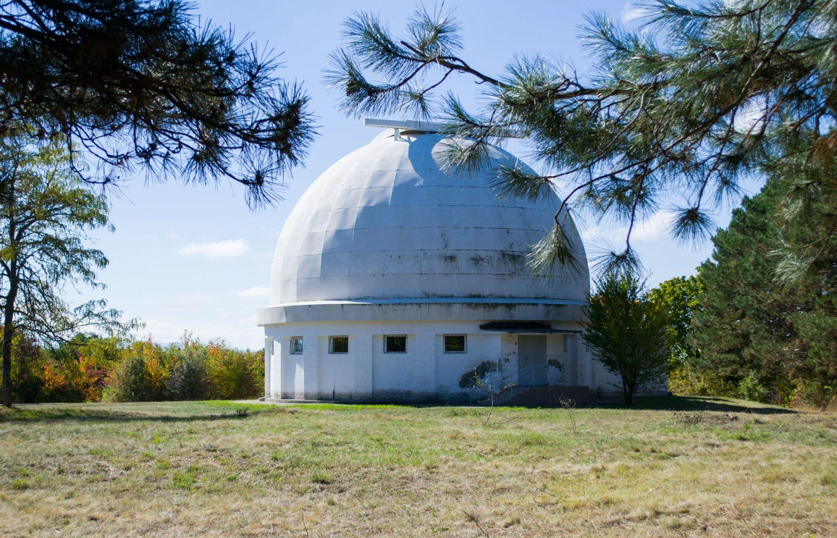 Крымская астрофизическая обсерватория в пгт Научном
