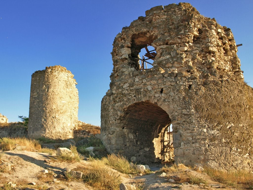 Пещерный город Каламита