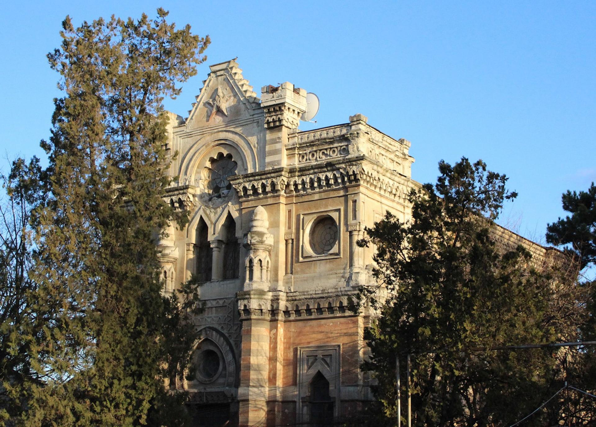 Караимская кенасса, фасад