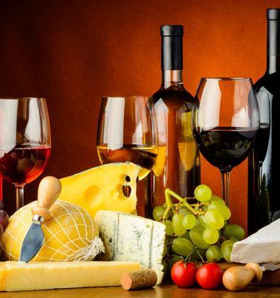 Вино и сыр в Крыму