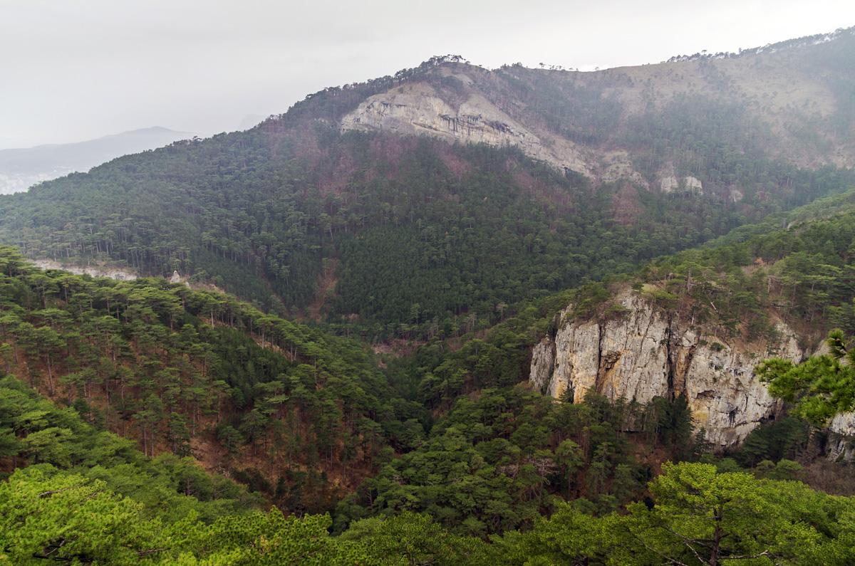 Уч-Кош, панорама