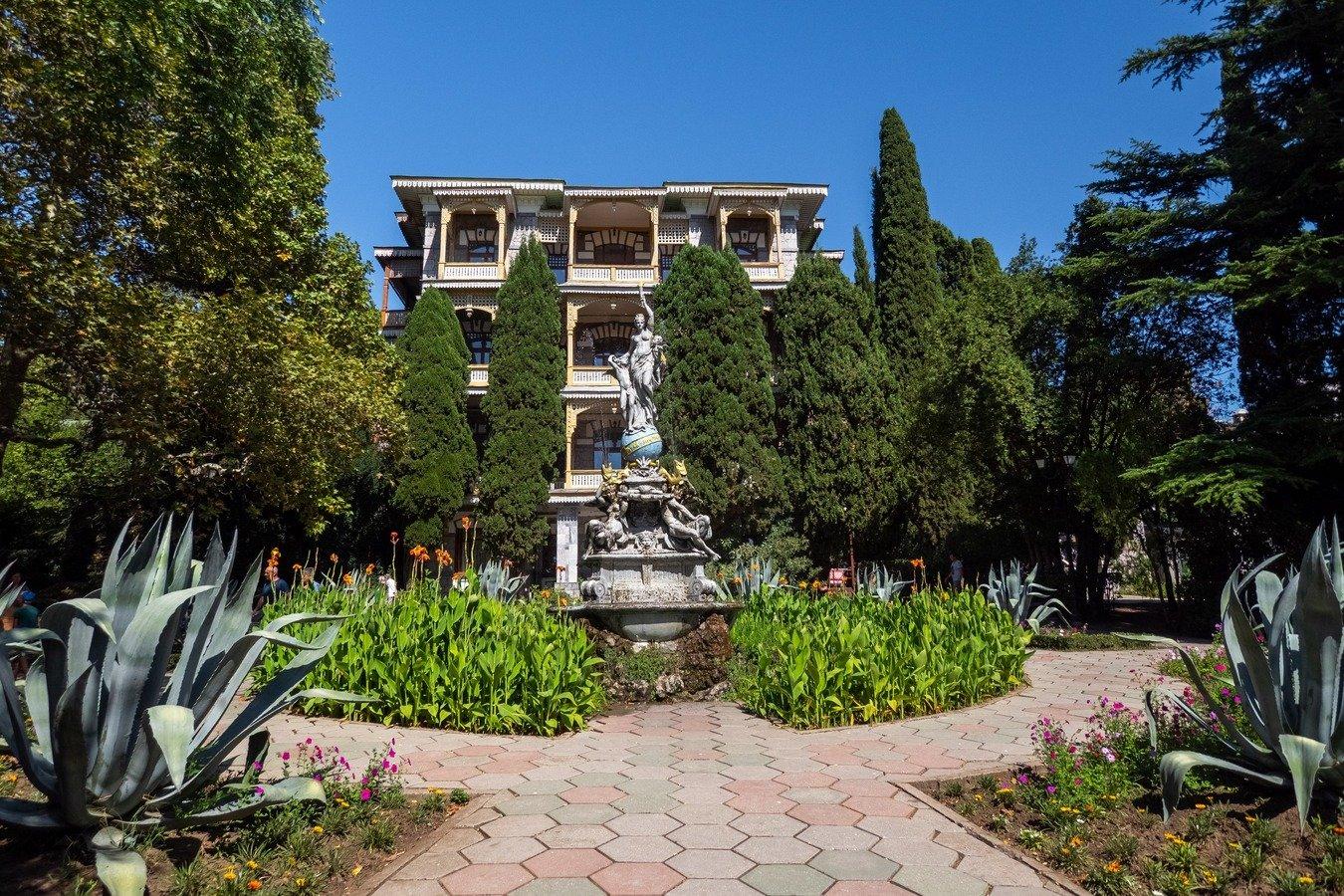 Гурзуфский парк