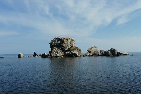 Крабий остров в Судаке
