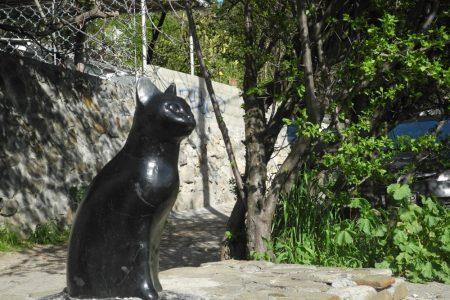 Памятник «Гурзуфская кошка»